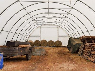 Lagerzelthalle und Zeltdach Zeitz